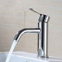 YHSGY Küchenarmatur 304 Edelstahl Becken Gebogene