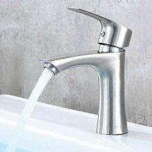 YHSGY Küchenarmatur 304 Edelstahl-Waschbecken Mit