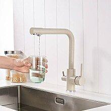 YHSGY Küchenarmatur 360-Grad-Drehung Mit