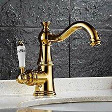 YHSGY Küchenarmatur Antike Becken Wasserhahn