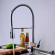 YHSGY Küchenarmatur Kupfer Spülbecken Wasserhahn