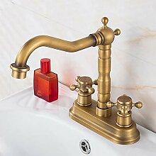 YHSGY Waschtischarmaturen Antikes Wasserhahn