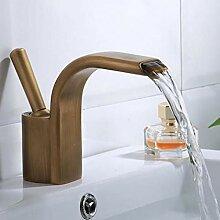 YHSGY Waschtischarmaturen Becken Facuet Wasserfall