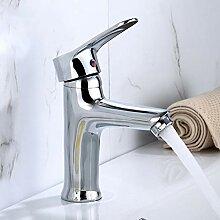 YHSGY Waschtischarmaturen Kupfer Chrom Waschbecken