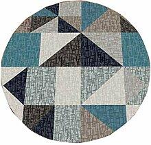 YHUJH Home Designerteppich Geometrisches Design