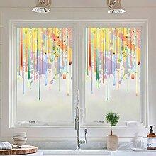 YHviking Farbe Fenster-Glas-Folie,Licht