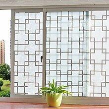 YHviking Selbstklebend milchglasfolie,Fensterfolie