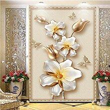 Yhzer Europäischen Stil Gold Blume Schmuck