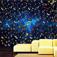 Yhzer Fototapete Fantasie Tapete Schlafzimmer