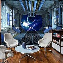 Yhzer Kinderzimmer Wandtuch Wandbild Raumschiff