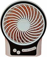 YI 3-Stufiger Ventilator Stummt Beweglicher Handgehaltener Usb-Nachladbarer Lithiumbatterieventilator , White,white