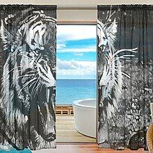 yibaihe Fenster Vorhänge, Gardinen Platten