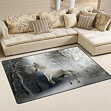 Yibaihe Teppich, Bedruckt, leicht, einfach zu