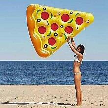 YiCan Aufblasbare Pizza Floating Row,