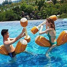 YiCan Gelbe Holzmaserung Schwimmende Reihe