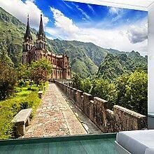YIERLIFE 3D Fototapeten Vlies Wandbild