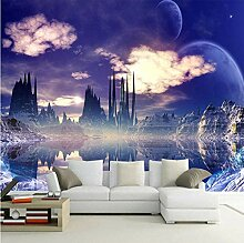 YIERLIFE 3D Fototapeten Vlies Wandbild Kosmische