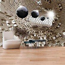 YIERLIFE 3D Fototapeten Vlies Wandbild Modischer