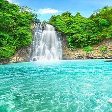 YIERLIFE 3D Fototapeten Vlies Wandbild Wasserfall