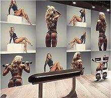 YIERLIFE 3D Fototapeten Vlies Wandbild -