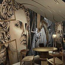 YIERLIFE Wandbild 3D Wandtattoo Aufkleber -