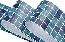 Yifasy Mosaik-Tapeten-Bordüre, selbstklebend,