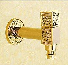 Yiffshunl Wasserhahn Waschmaschine Wasserhahn