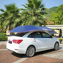 YIFNJCG Auto-Sonnenschutz Halbautomatischer