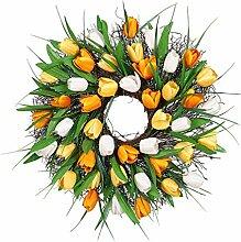 Yihaifu Künstliche Blumen Garland Tulpe Tür