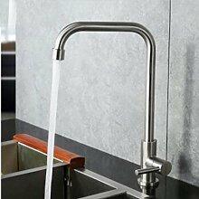YiHang @ 304 Edelstahl Kalt Einzige Universelle Rotation Küche Lebensmittel Becken Waschbecken Armaturen,C