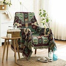 YIIVAN Cotton Sofa Towel Blanket Sofa Universal