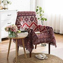 YIIVAN Cotton Sofa Towel Blanket Tischdecke
