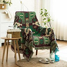 YIIVAN Sofa Universal Sofabezug Quasten Sofabezug