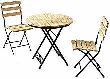 YIKUI Stuhl, Tisch, Schmiedeeisen Haushaltsklapp