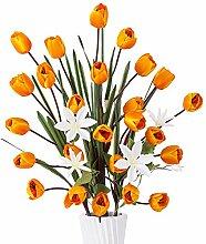 YILIYAJIA Künstliche Tulpen, Seidenblumen,