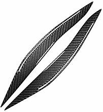 Yilong 1 Paar Carbon-Faser-Scheinwerferblenden