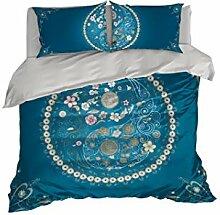 Yin Yang Mandala Betten Set by COOL Betten.