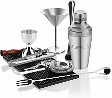 Yinaa Cocktail Shaker Mixer 10 Stück Set 500ML