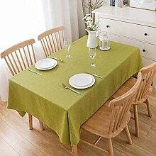 Yinaa Wachstuch Tischwäsche Tischdecke mit