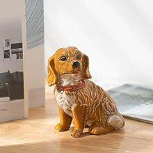 Yinasi Miniatur-Hund-Figur, Dekoration,