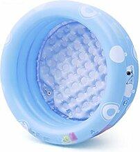 ying Aufblasbarer Pool für Kinder Marine Ball Pool Faltbare Badewanne Geeignet für 0-6 Jahre altes Baby (mit elektrischer Luftpumpe * 1) ( größe : 125*43cm )
