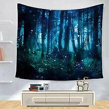 YINGBAOBAO Wandteppich Wandbehang Fantasiewald