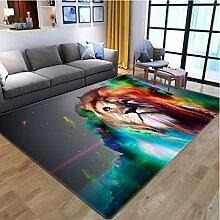 yinge Teppich Schlafzimmer Wohnzimmer Nachttier