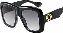 Yingm Sonnenbrille Square Frame Sonnenbrille PC