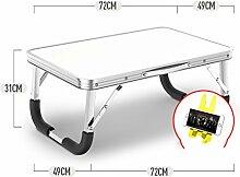 Yingui Laptop Bett Tisch, Tragbare Stehtisch,