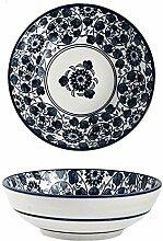 YiNuo Keramik Suppenschüssel, Japanische elegante