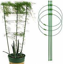 Yinuoday Kunststoff Pflanzen Gitter Unterstützen