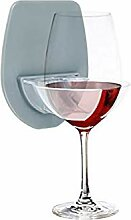 YINZI Weinglashalter, Badezimmer Rotwein-Glas