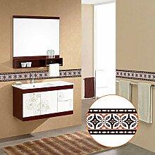 Yirenfeng Badezimmer Badezimmer Wand Taille Linie
