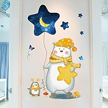 Yirenfeng Cartoon-Tapete Im Kinderzimmer Des Babys